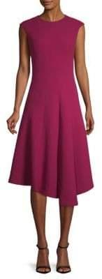 Lafayette 148 New York Aveena Asymmetric Wool Dress