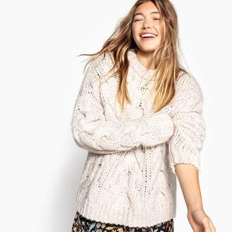 La Redoute Collections Chunky Cable Knit Jumper