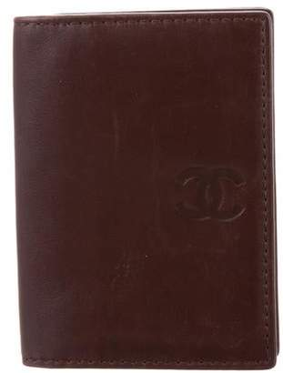 Chanel Lambskin CC Card Holder