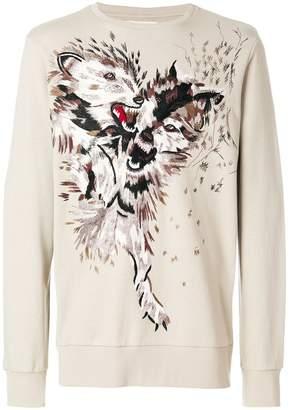 Ih Nom Uh Nit wolf sweatshirt