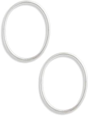 BRIGITTE GALA IS LOVE Hoop Earrings