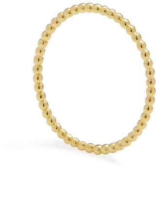 Myia Bonner Gold Skinny Ball Stacking Ring