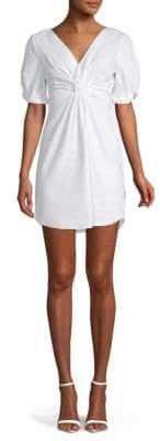A.L.C. V-Neck Mini A-Line Dress