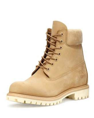 "Timberland 6"" Premium Waterproof Hiking Boot, Tan $190 thestylecure.com"