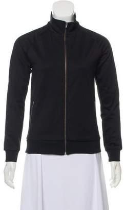 6397 Zip-Up High-Collared Sweatshirt