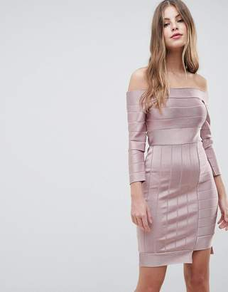French Connection Bandage Body-Conscious Dress