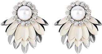 Henri Bendel Deepa By Deepa Gurnani Cylee Pearl Stud Earring klHBut