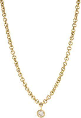 Malcolm Betts Brilliant Cut Diamond Pendant Necklace
