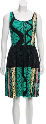 Sophie Theallet Sleeveless Flared Dress