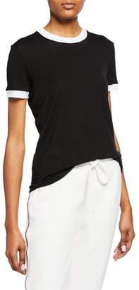 RtA Quinton Crewneck Short-Sleeve Top