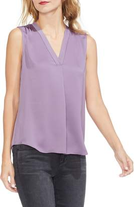 Vince Camuto Sleeveless Rumple Blouse