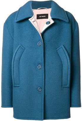 Raf Simons oversized cropped coat