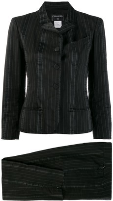 Chanel Pre-Owned 2003's striped skinny two-piece suit