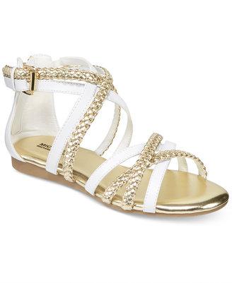 Michael Kors Demi Ayla Sandals, Little Girls (11-3) & Big Girls (3.5-7) $48 thestylecure.com