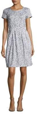Lafayette 148 New York Gina Printed Stretch Dress