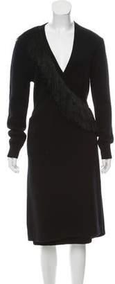 Altuzarra Wool Fringe-Trimmed Dress w/ Tags