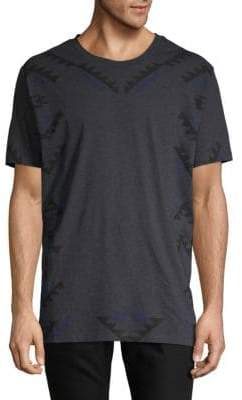 HUGO BOSS Geometric-Print Cotton Tee