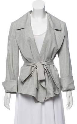 Saint Laurent Belted Wool Jacket