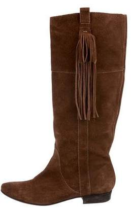 Joie Suede Knee-High Boots