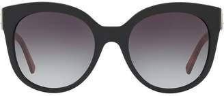 Burberry Eyewear buckle detail cat-eye sunglasses