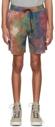 Leon Aime Dore Multicolor Leisure Shorts