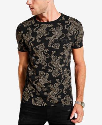 GUESS Men's Regal Lion T-Shirt