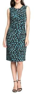 Nic+Zoe Vivid Twist Sleeveless Sheath Dress