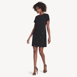 Tommy Hilfiger Short-Sleeve Asymmetrical Dress