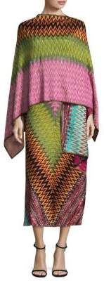 Missoni Metallic Zig Zag Wrap