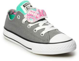 Converse Girls  Chuck Taylor All Star Double Tongue Sneakers 1abf2cbc4