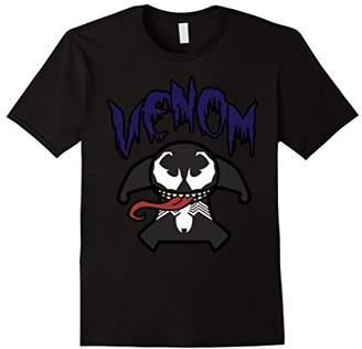 Marvel Venom Cute Kawaii Drippy Symbiote Graphic T-Shirt