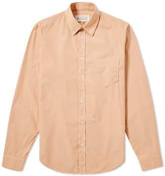 Maison Margiela Long Sleeve Poplin Shirt