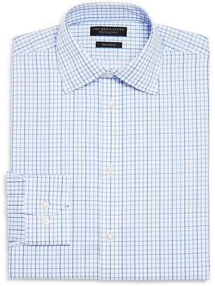 Bloomingdale's The Men's Store at Windowpane Regular Fit Dress Shirt - 100% Exclusive