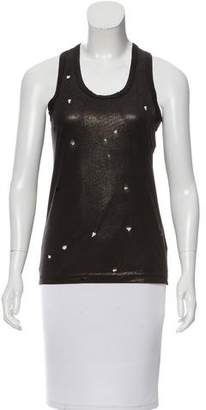 Junya Watanabe Distressed Sleeveless Top