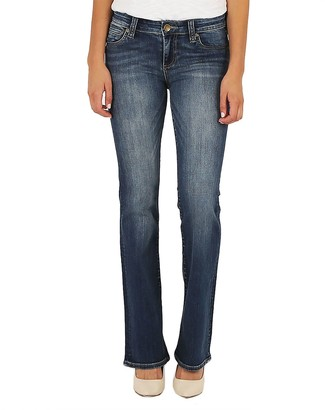 7f445f95c3e2c KUT from the Kloth Petite Natalie Bootcut Jeans- Mindsight