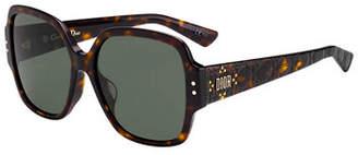 7d7f76bbca Christian Dior Lady Studs Square Sunglasses