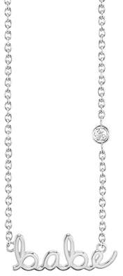 Sydney Evan Syd by Babe Diamond Pendant Necklace