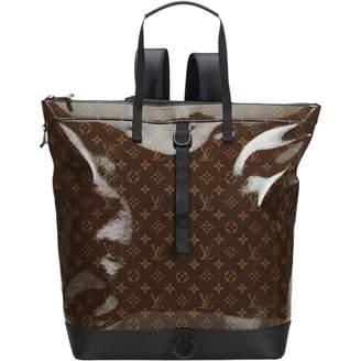 Louis Vuitton Brown Plastic Backpacks