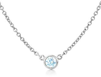LeVian Suzy Diamonds Suzy 14K 0.40 Ct. Diamond Solitaire Necklace