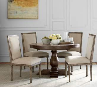 Pottery Barn Lorraine Extending Pedestal Dining Table