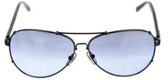 Dolce & Gabbana Reflective Aviator Sunglasses