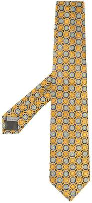 Canali mosaic print tie