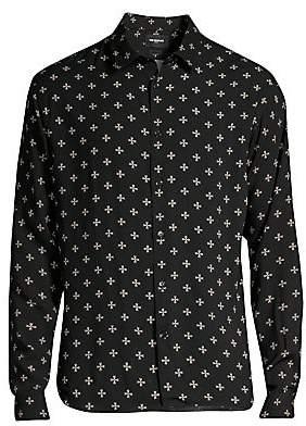 The Kooples Men's Printed Shirt
