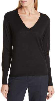 BOSS Flumia V-Neck Wool Sweater