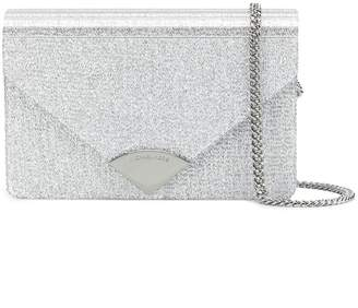 MICHAEL Michael Kors Barbara metallic clutch