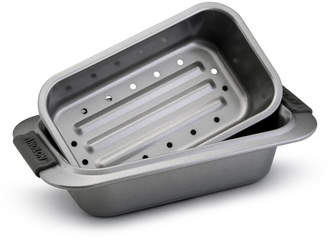 "Anolon Advanced 9"" x 5"" Loaf Pan with Drip Pan Insert"