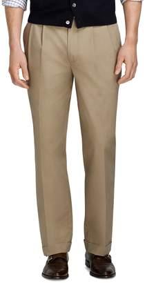 Brooks Brothers Elliot Fit Supima Cotton Poplin Pants
