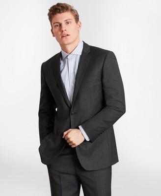 Brooks Brothers BrooksGate Milano-Fit Wool Twill Suit Jacket