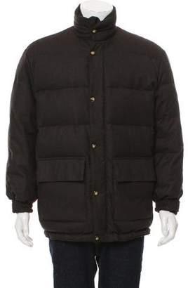 Loro Piana 150'S Wool Storm System Coat