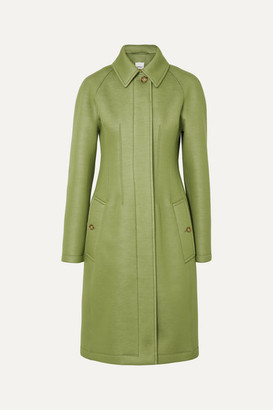 Burberry Neoprene Coat - Green
